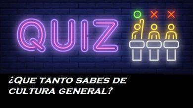 cultura general quiz test