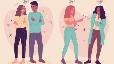 señales peleas pareja distanciamiento