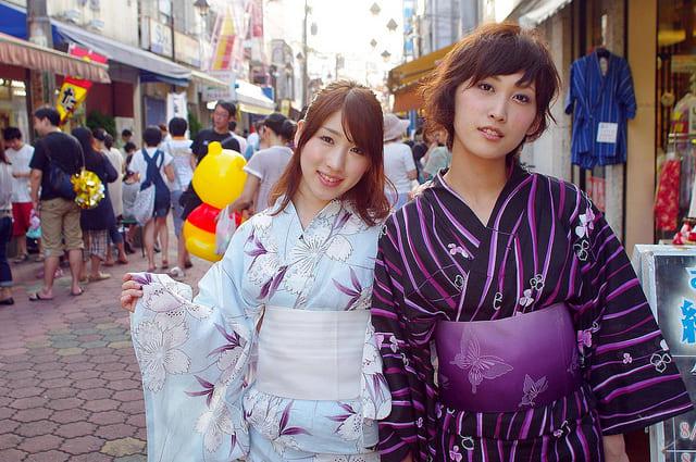 kimonos curiosidades tokio