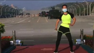 fitness video viral myanmar