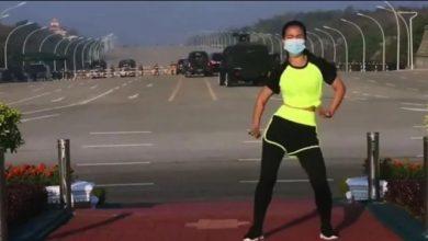 fitness video viral myanmar