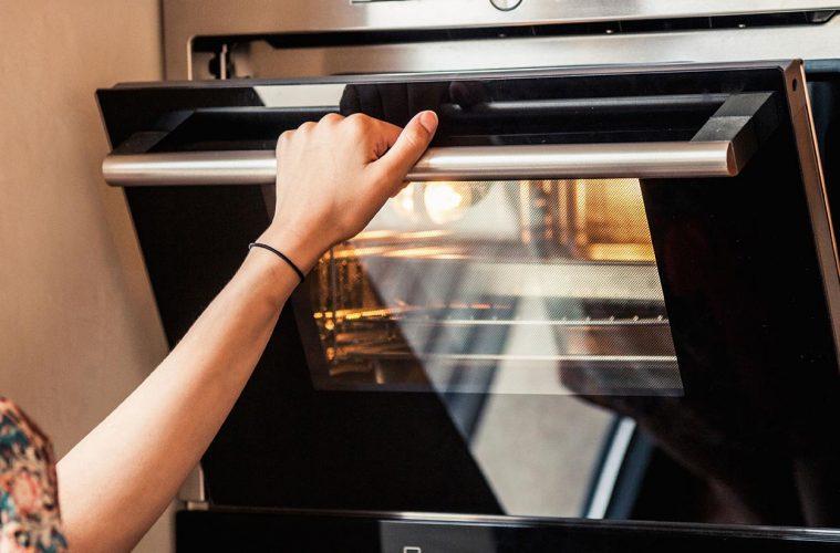 horno cocina mas limpia